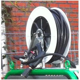 Slanghaspel-EB met 20 m slang voor Compact of ONE/TWO automatisch - RVS-ABS