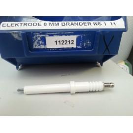 Electrode 8mm voor LPG brander