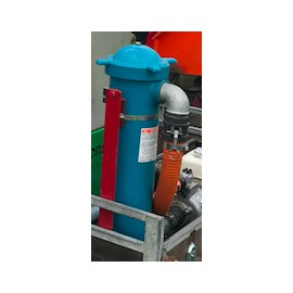 Afvulsysteem/tanksysteem voor oppervlaktewater
